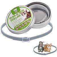 Soulitem Cat Collar Tick Flea Anti Insectos Mosquitos Impermeable Ajustable 8 Meses de protección