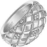 Esprit ESRG91949A Damen Ring lattice glam Sterling-Silber 925 Weiß Zirkonia 15,9 mm Größe 50
