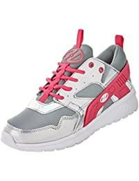 Heelys Force Silver Grey Pink Girls Shoes