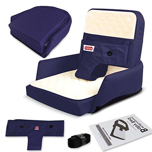 LINAG Baby Reisebett Krippe Portable Faltbare Travel Bed Bassinet Babybett Tragbares Multifunktionale Bionisch Zusammenklappbar Sitzplätze ,Blue