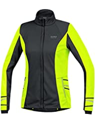 Gore Running Wear, Women's Thermal Running T-Shirt, Long Sleeves, Gore Selected Fabrics, MYTHOS LADY 2.0 Thermo, SMYTTL