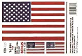 Best American Flags - Trimbrite T1894 Sticker American Flag Review