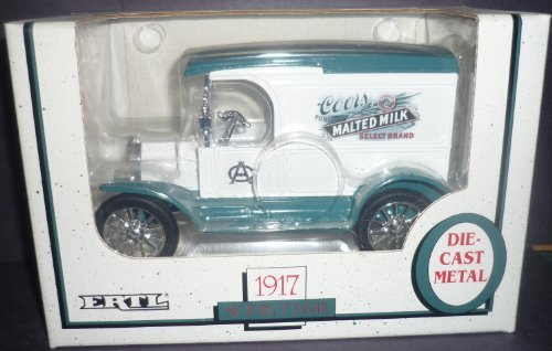 ertl-coors-malted-milk-1917-model-t-1-25-scale-diecast-bank-by-ertl