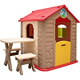 LittleTom childrens Playhouse incl 1 table 2...