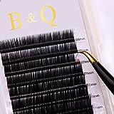 """Fashladyâ""""¢ B, 0.20Mm: Permanent Mink Eyelash Extension Kits 12 Lines/Tray Individual Eyelash Professional"""