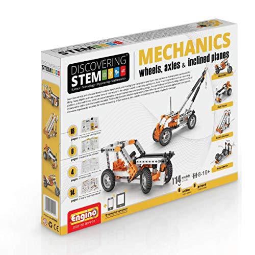 Engino-STEM STEM02 - Konstruktionsbausatz Mechanik