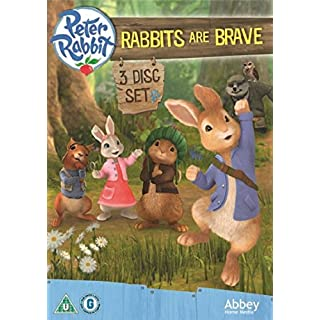 Peter Rabbit - Rabbits Are Brave DVD - 3 Disc's