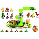 Collectrio Fruits & Vegetable Juicer With Waste Collector, Steel Handle, Manual Juicer, Natural Fruit Juicer (Colour Vary )