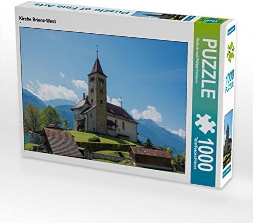 CALVENDO Puzzle Kirche Brienz-West 1000 Teile Lege-Grösse Lege-Grösse Lege-Grösse 64 x 48 cm Foto-Puzzle Bild Von und Philipp KellFemmen Stefanie | Une Bonne Conservation De La Chaleur  a2f38a