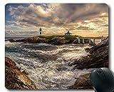 Genähte Kanten-Mauspads, Cape Lighthouse Gaming Mouse Pad