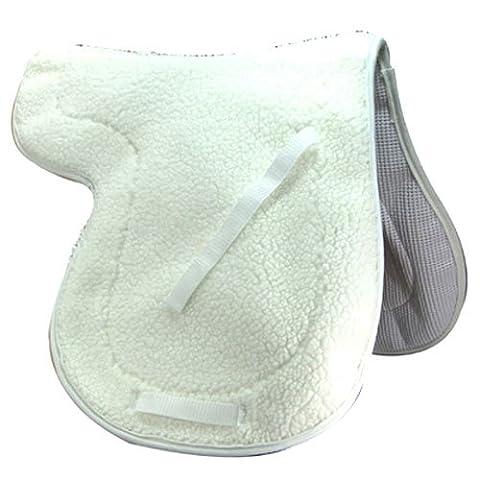Intrepid International English Fleece Non Slip All Purpose Saddle Pad