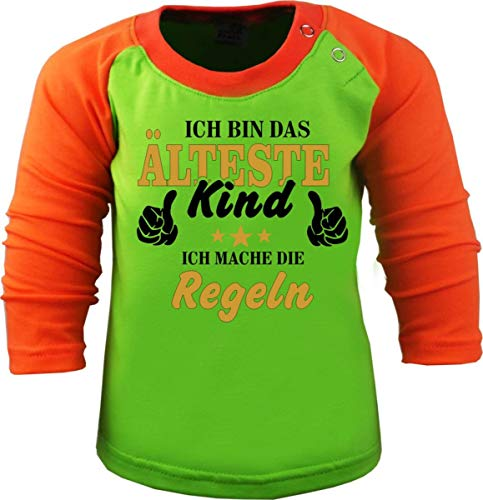 KLEINER FRATZ - Haut à Manches Longues - Slogan - Manches Longues - Bébé (garçon) - Vert - Small