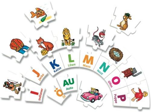 Noris Spiele 606076151 - ABC Karusell, Kinderspiel - 2
