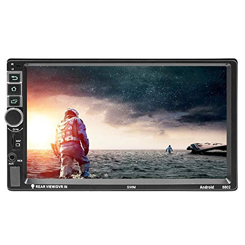 RLFS SWM 7 in 2 Din Android 7.1 Auto Stereo MP3-Player GPS Navi RDS FM Radio AM