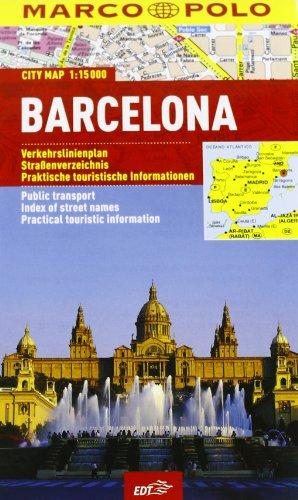 Barcellona 1:15.000 (Piante di città Marco Polo)