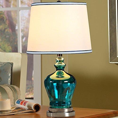 fonte tavolo di vetro moderno Lampada da tavolo decorato lampada da comodino lampada E27 (E27 senza fonte di luce) ( dimensioni : Interruttore a pulsante )