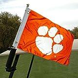College Flags and Banners Co. Clemson Chariot de Golf et Bateau Drapeau