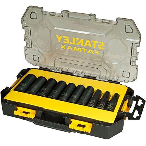 Stanley FatMax Mini-Toughbox (1/2 Zoll Steckschlüssel-Set, lang, 17-teilige) FMHT0-74720