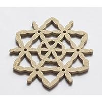 S??E weiche PINK100 Mulberry Rose Bud Blume Hochzeit Craft 0.50x1.25 cm Papier