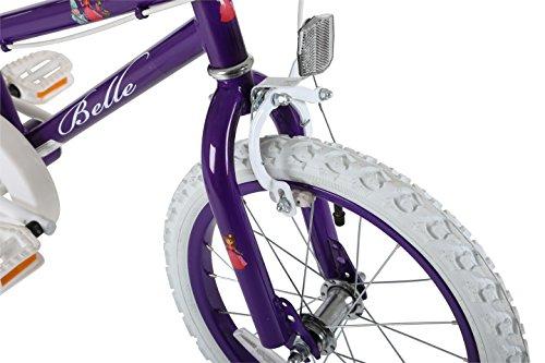 Sonic MO1605 Girl Belle Bike, 16 inch Wheels – Purple