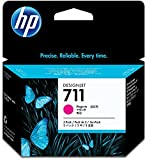 Hewlett Packard CZ135A OEM Wide Format Ink - HP 711 Ink Multipack Magenta (3 Pack of OEM# CZ131A) (3 x 29 ml) by HP