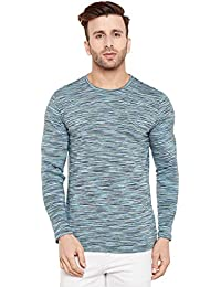 Le Bourgeois Yarn Dyed Striped Print Full Sleeve T-shirt