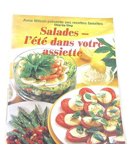 Salades : L'Eté dans votre assiette par Anne Wilson