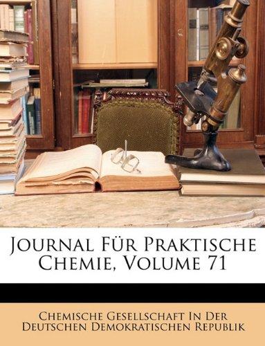Journal für praktische Chemie, Zweiter Band