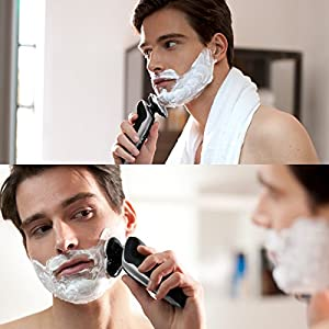 Philips 9000 Series S9711 / 32 Wet & Dry Electric Shaver with Precision Blades