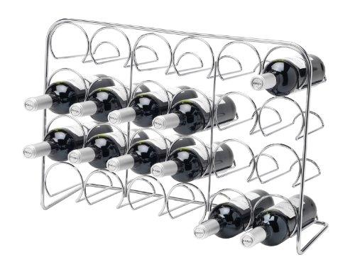 hahn-pisa-24-bottle-wine-rack-chrome