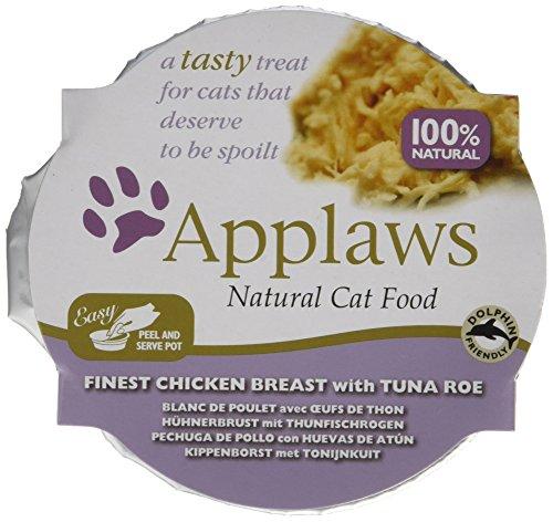 Applaws Katze Schale, Hühnchen Selection, Multipack, 8er Pack (8 x 60 g)
