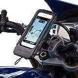 Ultimateaddons Motorrad Moped Helix Gurt 21 – 40 mm Fahrradhalterung und wasserfeste robuste Hülle für Apple iPhone 7.