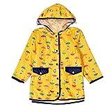 Arshiner Kinder Mädchen Junge Wasserdichte leichte Langarm Regenbekleidung Regenmantel Regenjacke