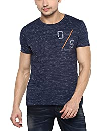 Spykar Mens Slim Fit Tshirts