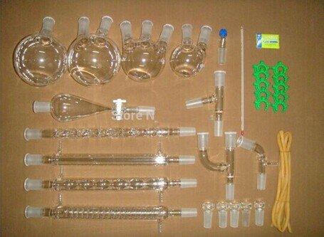 rganische Chemie LAB Glaswaren Kit 24/40Lab Glaswaren Kit 24/40Lab Glaswaren Kit Lab Gläser ()