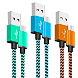Best Cables USB - Cable Micro USB YOSOU Cable USB [1M,3Unidades]Trenzado de Review