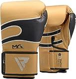 RDX Boxhandschuhe Leder Muay Thai Boxsack Kickboxen Sparring Boxen Training