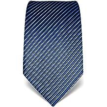 VB–Cravatta Uomo Seta a Righe–Molti colori (Seta Zipper)