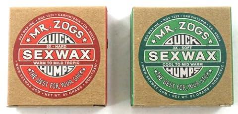 Mr Zogs Sex Wax Schnelle Höckern Basislack und Cool Water