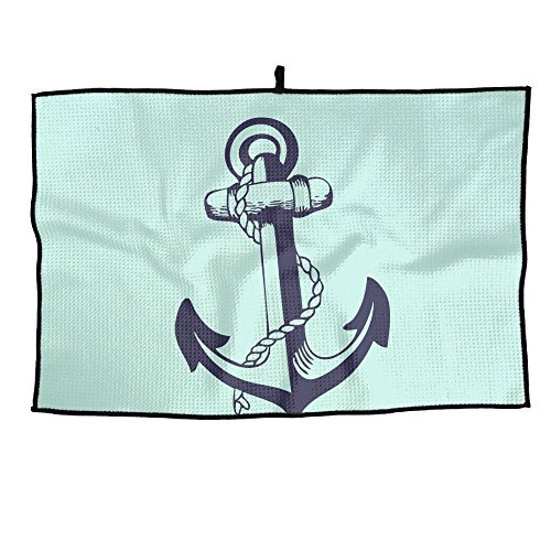 Huenem Handtuch für Golfschläger, Unisex, 38 x 60 cm, Violett