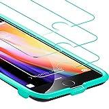 iPhone 7 Panzerglas [3 Stück], iPhone 8/ 7 / 6s/ 6 Panzerglas Schutzfolie [mit Smart...