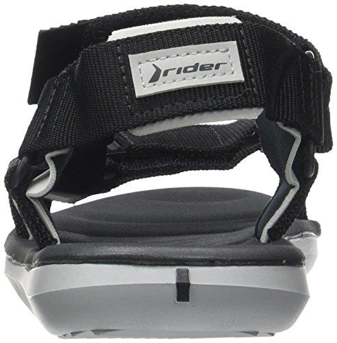 Rider Rx Sandal Ad Ff, Sandales Homme Noir (Black/Grey)