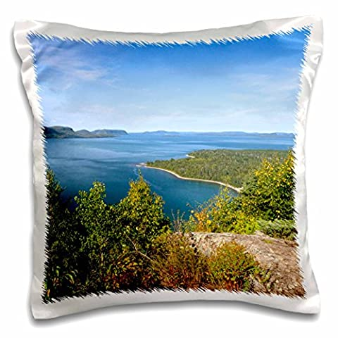 Danita Delimont - Lakes - Kama Bay, Lake Superior, Ontario, Canada - CN08 DFR0016 - David R. Frazier - 16x16 inch Pillow Case (pc_135363_1)