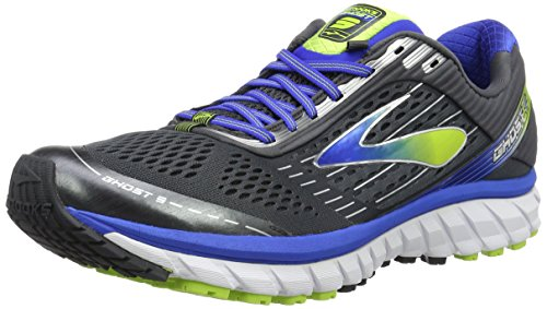 Brooks Ghost 9, Zapatillas de Running Para Hombre, Multicolor (Anthrac