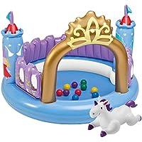 Intex - Centro de juegos Intex castillo mágico +10 bolas - 130x91 cm - 48669NP