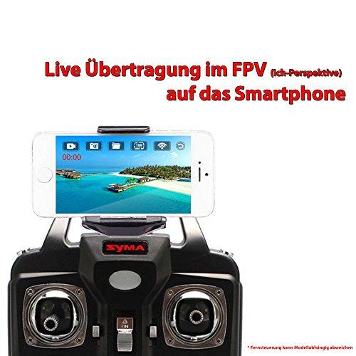 SYMA Wifi Kamera FPV KIT Live Übertragung auf Smartphone/Tablet für Syma X5SC, X5SW, X5HC,X5HW UPGRADE Aufrüst-KIT - 4