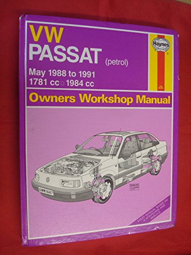 volkswagen-passat-petrol-1781cc-and-1984cc-1988-91-owners-workshop-manual-service-repair-manuals