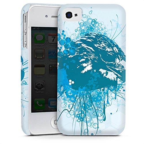 Apple iPhone 6 Housse Étui Silicone Coque Protection Aigle Aigle Griffon Cas Premium mat