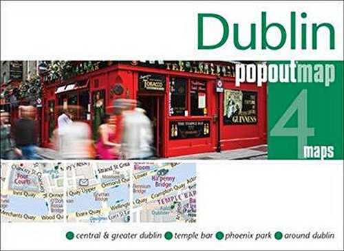 Dublin PopOut Map (PopOut Maps) por Popout Maps