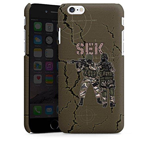 Apple iPhone X Silikon Hülle Case Schutzhülle SEK Polizei Soldat Premium Case matt